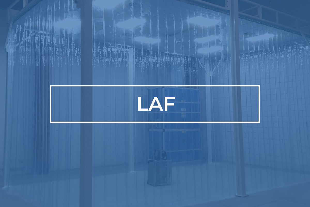 Softwall - LAF (Laminar Air Flow)   Cleanroom Device - Phamm Engineering